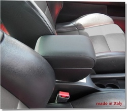 Bracciolo regolabile con portaoggetti per Peugeot 307