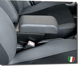 Bracciolo regolabile con portaoggetti per Peugeot 406