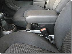 Bracciolo regolabile con portaoggetti per Mini Countryman R60