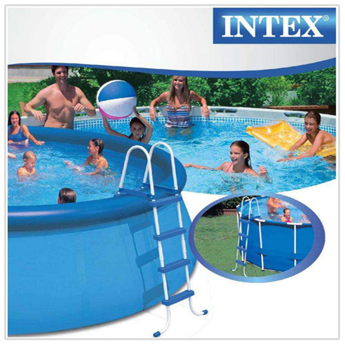 Scaletta per piscina intex 58974 28062 easy frame h 122 cm - Scaletta per piscina ...