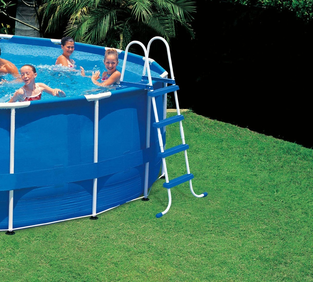 Scaletta per piscina INTEX 58974 / 28062 easy frame H 122 cm