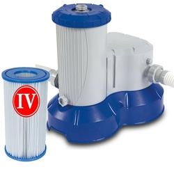 Pompa a filtro per piscine Bestway 58221 flowclear 9463 lt/h filtraggio per piscine pulizia 58221