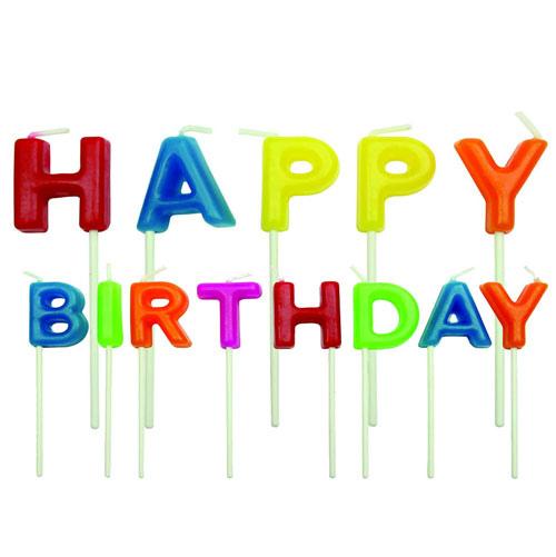 Set 13 candeline Happy birthday