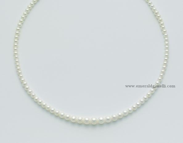 PCL2211 Girocollo di Perle a scalare Miluna-