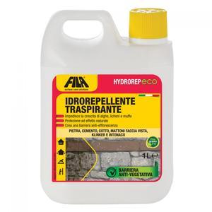 Fila HYDROREP ECO 5 lt  idrorepellente traspirante  ad effetto naturale ideale per interni ed esterni in pietra, cemento, cotto e intonaco