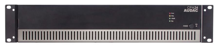 Audac CPA24 - amplificatore 100V - 240W