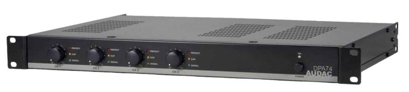 Audac DPA74 - Amplificatore 4 canali
