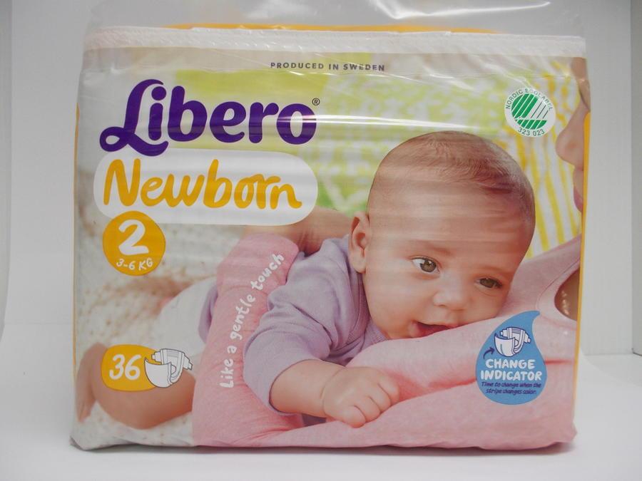 LIBERO Newborn 2 (3-6 kg)