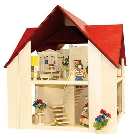 """Casa delle Bambole in Legno """"Singola Solitair"""" di Rulke Holzspielzeug"""