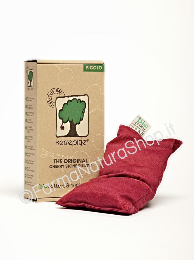 Cuscino Kersepitje® con noccioli di ciliegia modello Picolo