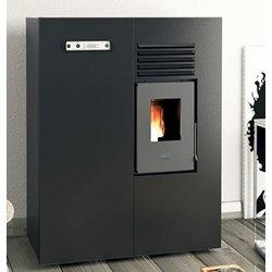 Eva calor stufa a pellet matilde potenza termica 4 kw 100 m3 riscaldabili colore - Potenza stufe a pellet ...