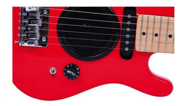 Chitarra Elettrica Rossa per Bambini di Legler