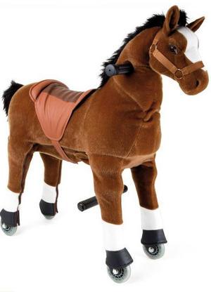 """Cavallo da Sella """"Puledro"""" per Bambini di Legler"""