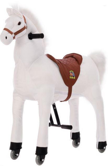 """Cavallo da Sella """"Bianco"""" per Bambini della Legler"""