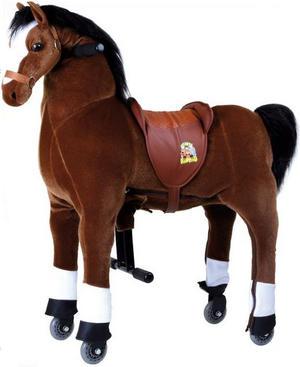 """Cavallo da Sella """"Fulmine"""" per Bambini della Legler"""