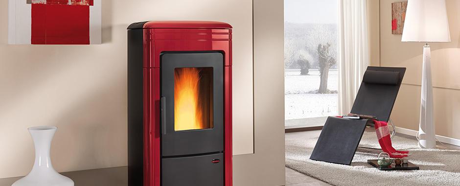 Extraflame termostufa a pellet liliana idro finitura - Stufe a pellet idro nordica extraflame ...