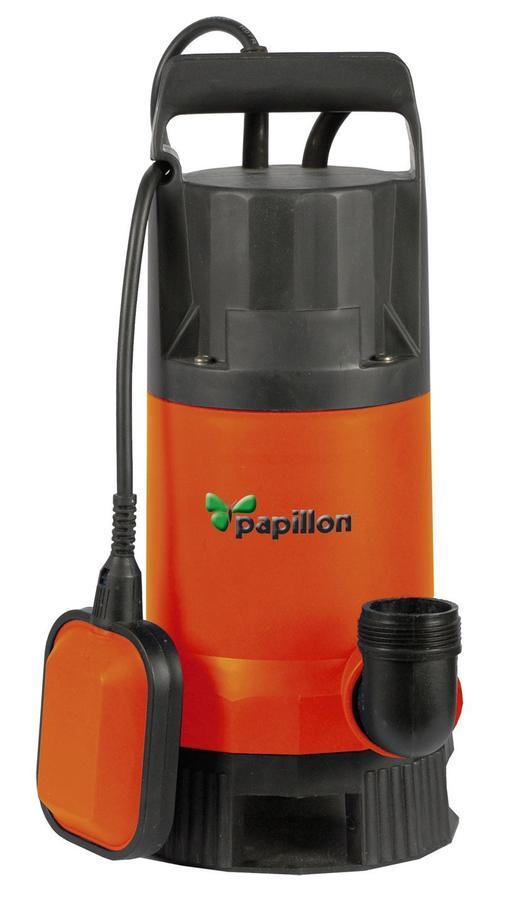 Elettropompa PAPILLON SHARK sommergibile pompa per aspirazione acqua piscina 13500 lt/h 91853 850W
