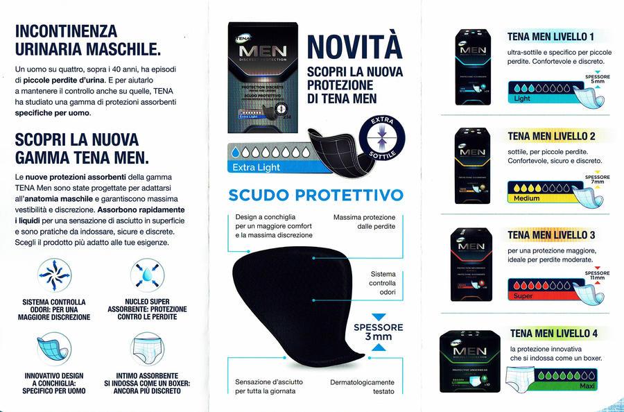TENA Men Scudo Protettivo Livello 0 Extra Light