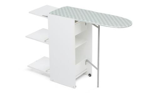Asse da stiro Mobile in legno STIR8 di Foppapedretti colore Bianco