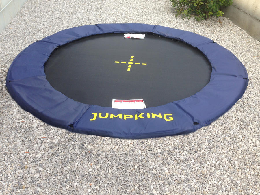 Trampolino ad uso pubblico e professionale Jumpking JumpPOD Professional Inground