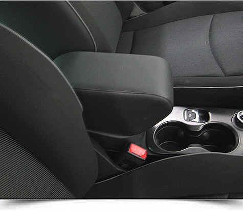 Mittelarmlehne ELEGANT für Fiat 500 X in der Länge verstellbaren