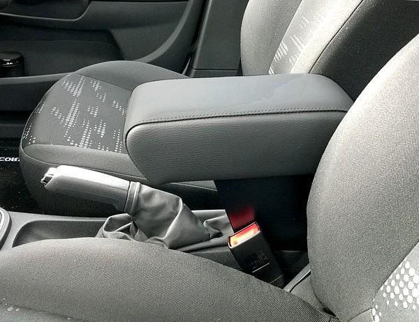 Bracciolo regolabile con portaoggetti per Opel Corsa D