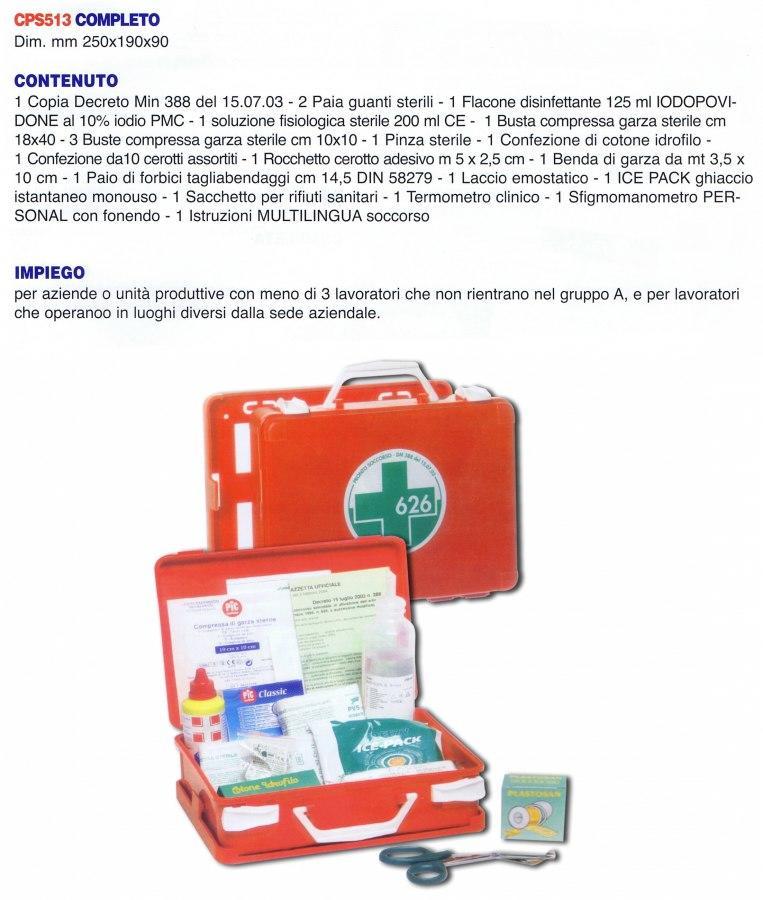 CASSETTA P.S. MEDIC 1 allegato 2 base (fino a 2 lavoratori)