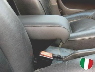 Bracciolo regolabile con portaoggetti per Saab 9000
