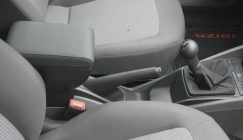 Cargo Seat Arm Rest : Adjustable armrest with storage for seat ibiza