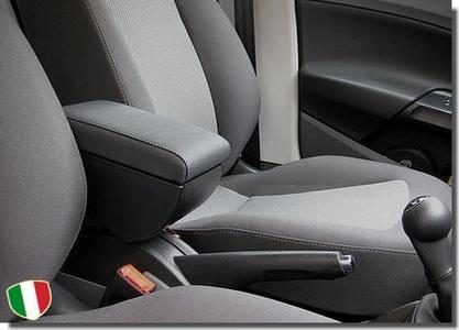 Bracciolo regolabile con portaoggetti per Seat Ibiza (dal 2009)