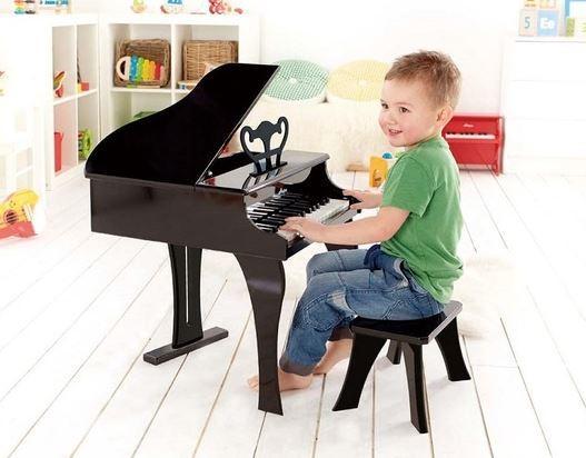 Pianoforte a Coda Allegro Nero in Legno Hape - Offerta