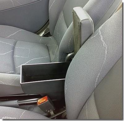 Bracciolo regolabile con portaoggetti per Subaru Trezia