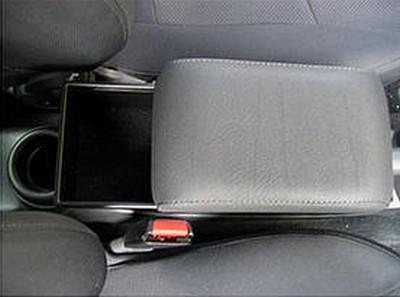 Adjustable armrest with storage for Toyota Urban Cruiser