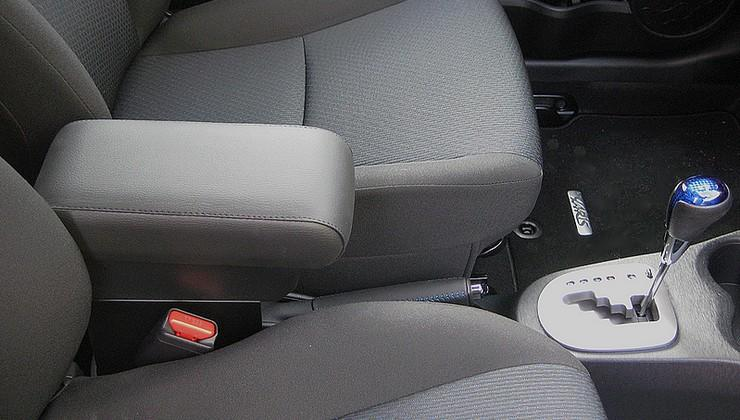 Adjustable armrest with storage for Toyota Yaris (2012-2014) and Hybrid