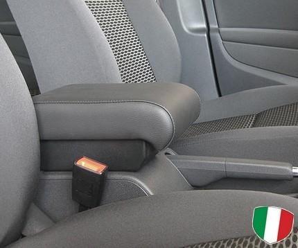 Bracciolo regolabile con portaoggetti per Volkswagen Golf Plus