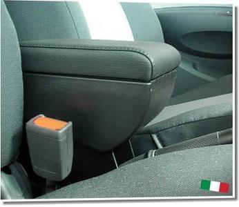 Bracciolo regolabile con portaoggetti per Volkswagen Polo (2001-2008) e (2009-2017)