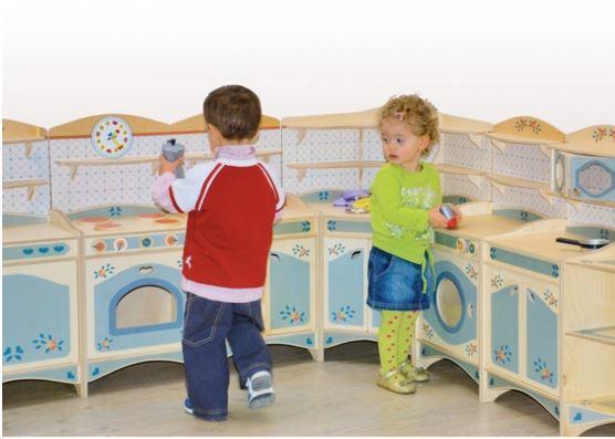 Cucina Per Bambini In Legno : Cucine fai da te isola con legno di riciclo cucina nel the