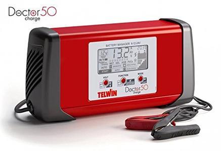 Caricabatterie Multifunzione DOCTOR CHARGE 50 Telwin Carica Batterie Auto Moto Barche