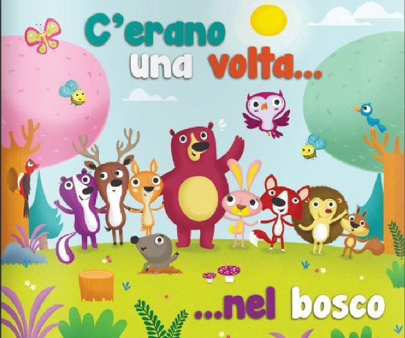 """Attaccapanni con Mensola """"Amici del Bosco"""" per Bambini in Legno Naturale di Dida"""