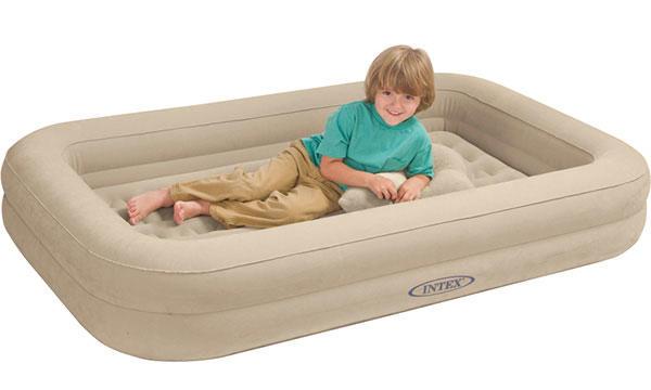 Materasso gonfiabile intex 66810 letto bambini singolo campeggio baby
