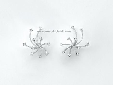 ERD852 Orecchini Miluna con Diamanti