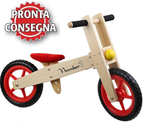 Bicicletta senza pedali per Bambini di Legler