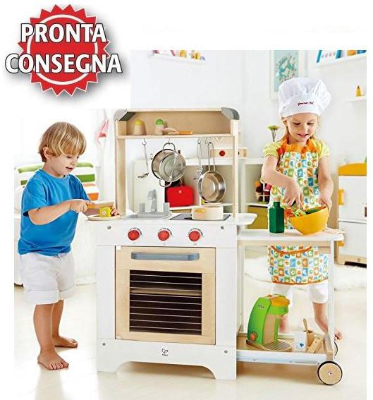 cucina hape, cucina bimba, bambina cucina, cuoci bambina, cucina gioco, cucina giocattolo