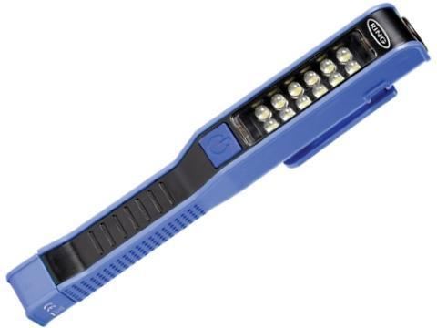 Lampada portatile 12 LED magnetica da taschino