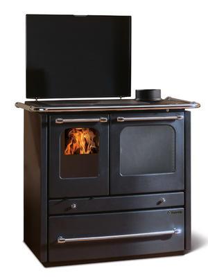 Cucina a legna SOVRANA EVO Antracite 9 kw La Nordica Antracite 7014332