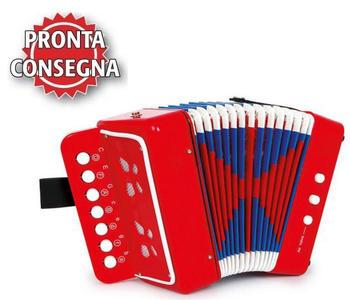 Fisarmonica Colorata per Bambini di Legler