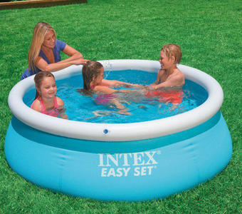 Piscina fuori terra Intex 28101 Easy Set rotonda 183x51