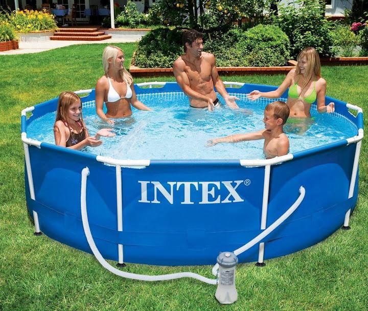 Intex piscina fuori terra frame 305x76 cm pompa filtro a cartuccia - Pompa piscina intex ...