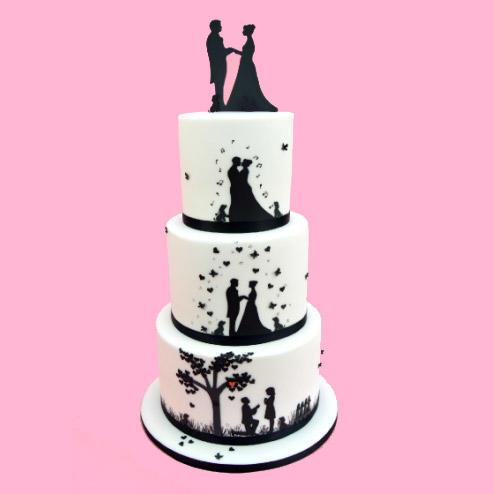 Stampo a impressione sposi