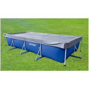 Telo copertura piscine Intex 28039 universale fuori terra rettangolare 450x220 cm